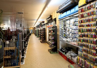 House Of Tackle Unser Shop Koederwand